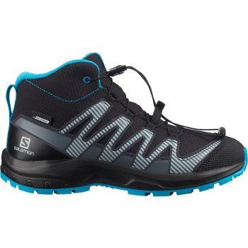 Salomon XA PRO 3D V8 MID CSWP J, otroški pohodni čevlji, črna