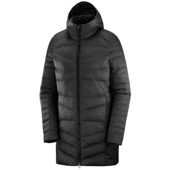 Salomon SIGHT STORM HOODIE W, ženska pohodna jakna, črna