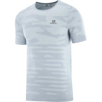 Salomon XA CAMO TEE, moška tekaška majica, modra
