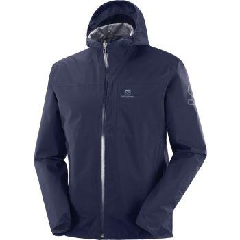 Salomon XA 2.5L WATERPROOF JACKET M, moška pohodna jakna, modra