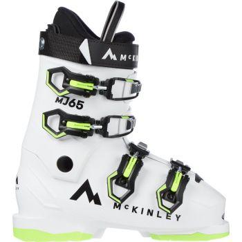 McKinley MJ 65, otroški smučarski čevlji, bela