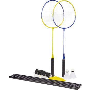 Pro Touch SPEED 100 - 2 PLY NET SET, badminton set, rumena