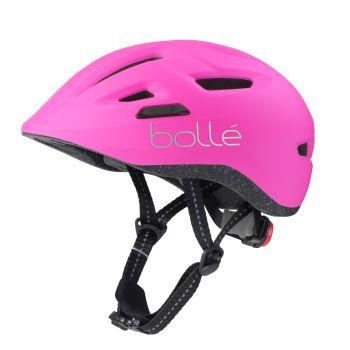 Bolle STENCE JR., otroška kolesarska čelada, roza