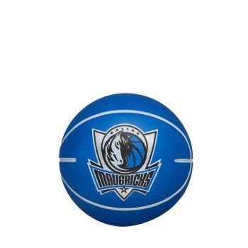 Wilson NBA DRIBBLER DALLAS MAVERICKS, žoga mini, modra