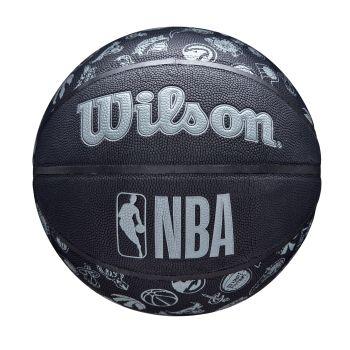 Wilson NBA TEAM COMPOSITE ALL TEAM, košarkarska žoga, črna