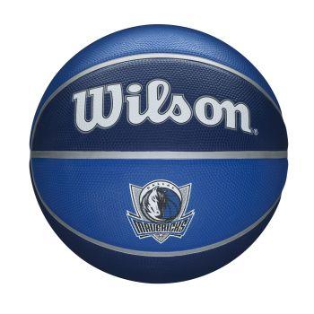 Wilson NBA TEAM TRIBUTE DALLAS MAVERICKS, košarkarska žoga, modra