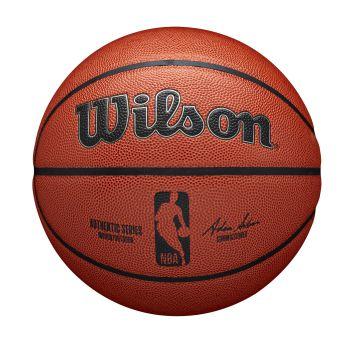 Wilson NBA AUTHENTIC INDOOR OUTDOOR, košarkarska žoga, rjava