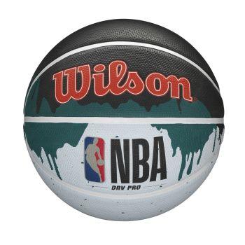 Wilson NBA DRV PRO DRIP, košarkarska žoga, črna