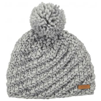 Barts CHANI BEANIE HEATHER GREY ONE SIZE, kapa, siva