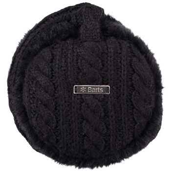 Barts Monique Earmuffs Black One Size, dodatki, črna