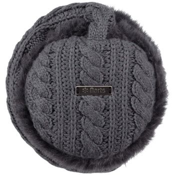 Barts Monique Earmuffs Dark Heather One Size, dodatki