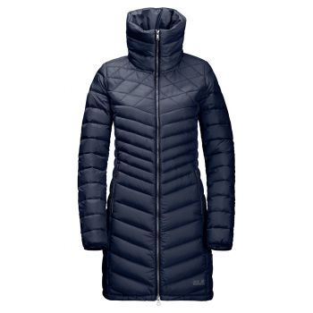 Jack Wolfskin Richmond Coat, plašč, modra