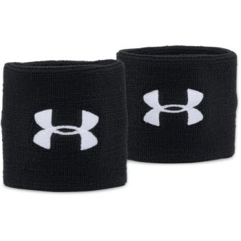 Under Armour UA PERFORMANCE WRISTBANDS, teniški znojnik, črna