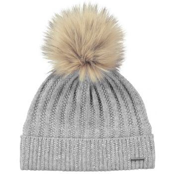 Barts MARIGOLD BEANIE HEATHER GREY ONE SIZE, kapa
