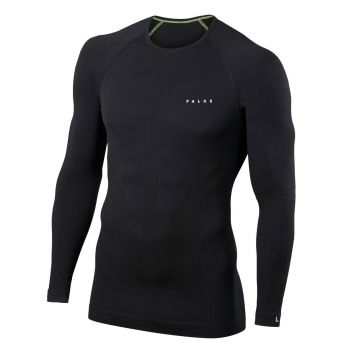 Falke FALKE M LONGSLEEVED SHIRT TIGHT, perilo m.maja sp, črna