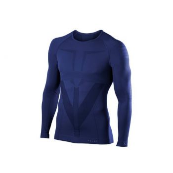 Falke FALKE M LONGSLEEVED SHIRT TIGHT, perilo m.maja sp, modra