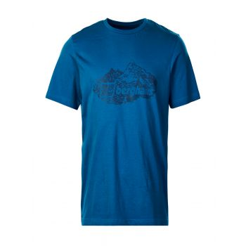Berghaus Branded Mountain T Shirt Am Blu/blu, maja m.kr poh, modra