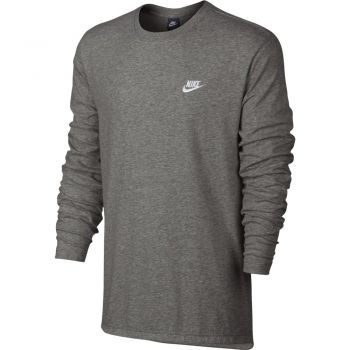 Nike M Nsw Top Ls Club Jsy, srajca m.fit, bela