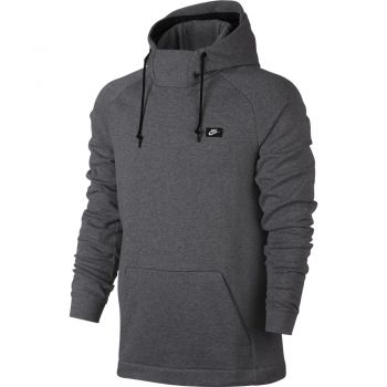 Nike M Nsw Modern Hoodie Po Ft, pulover m.fit, siva