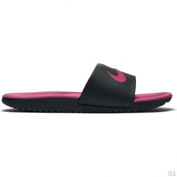 Nike NIKE KAWA SLIDE (GS/PS), natikači, črna