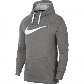 Nike M NK DRY HOODIE PO SWOOSH, pulover m.fit, siva