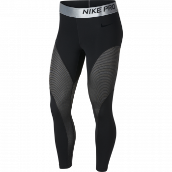 Nike W NP WM TIGHT 7/8 CHAMPAGNE, pajke ž.capri fit, črna