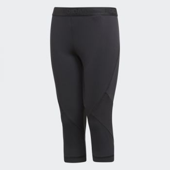 Adidas Yg P 3/4 Tight, pajke o.capri fit, črna