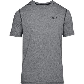 Under Armour Ua Threadborne Fitted Ss-blk//blk, majice, siva