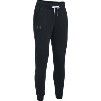 Under Armour FAVORITE FLEECE PANT, ženske fitnes hlače, črna