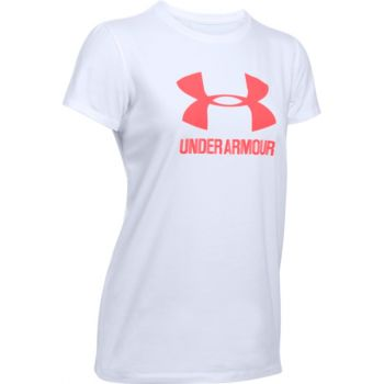 Under Armour 1298611, ženska fitnes majica, bela