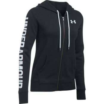 Under Armour FAVORITE FZ HOODIE, jopa ž.fit, črna