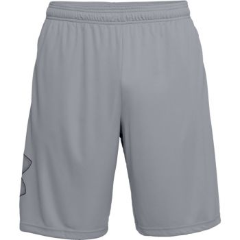 Under Armour UA TECH GRAPHIC SHORT, moške fitnes hlače, siva