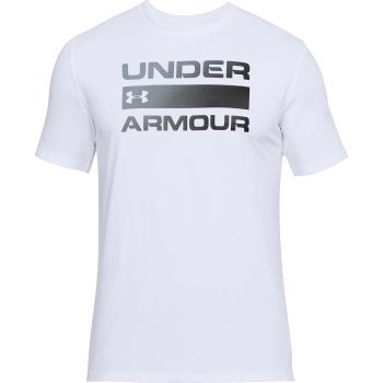 Under Armour Team Issue Wordmark-wht/stl/blk, majice, bela