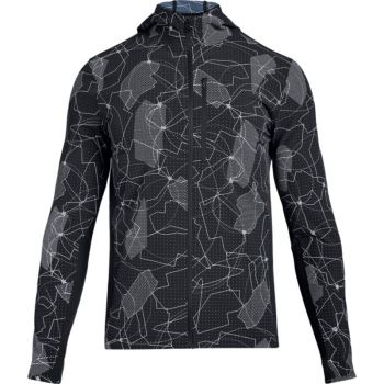 Under Armour OUTRUN THE STORM PRT JKT, moška jakna, črna