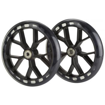 Firefly SCOOTER WHEELS 2/1 - 200MM, kolesa za skiro, transparent
