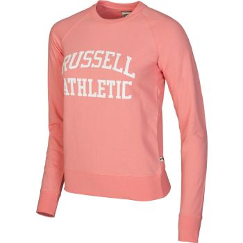 Russell Athletic A81061, pulover ž., roza