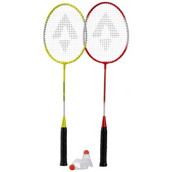 Tecnopro SPEED 200 SET 2, badminton set, rumena