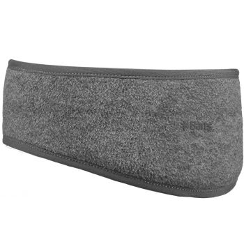 Barts FLEECE HEADBAND HEATHER GREY ONE SIZE, trak, siva