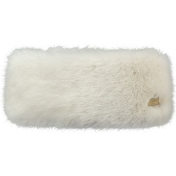 Barts FUR HEADBAND WHITE ONE SIZE, trak, bela