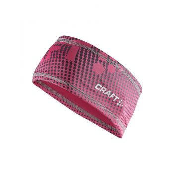Craft LIVIGNO PRINTED HEADBAND, trak, roza