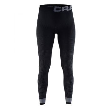 Craft WARM INTENSITY PANTS W, ženske fitnes hlače, črna