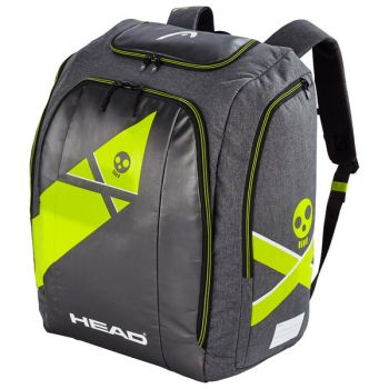Head REBELS RACING BACKPACK L, nahrbtnik, črna