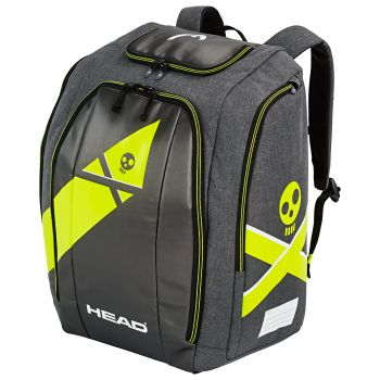 Head REBELS RACING BACKPACK S, nahrbtnik, črna