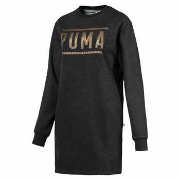 Puma PUMA ATHLETIC DRESS FL, obleka, črna