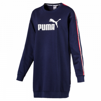 Puma PUMA TAPE DRESS TR, obleka, modra
