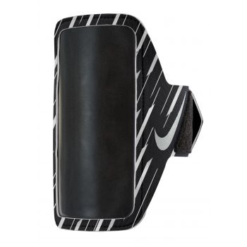 Nike 360 FLASH PRINTED LEAN ARM BAND, črna
