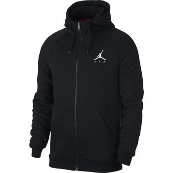 Nike JUMPMAN FLEECE FZ, pulover m.koš, črna
