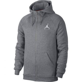 Nike JUMPMAN FLEECE FZ, pulover m.koš, siva