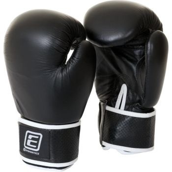 Energetics BOXING GLOVE LEATHER TN, boksarske rokavice, črna