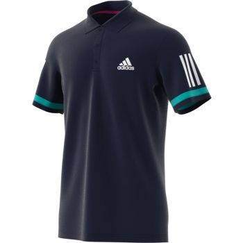 Adidas CLUB 3STR POLO, maja m.kr ten polo, modra